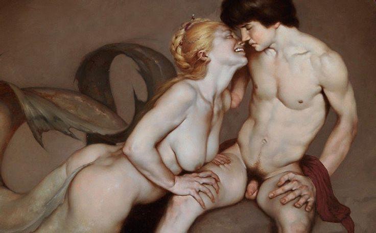 Roberto Ferri pintura barroca simbolista controvertida 9
