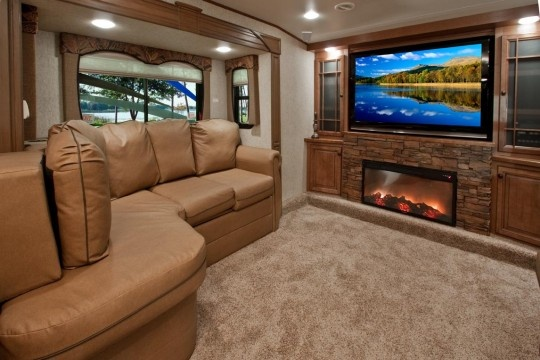 want the front living plan fifth wheels pinterest