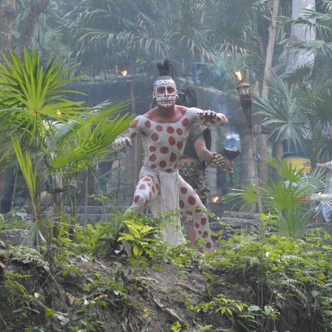 Dios del inframundo Maya
