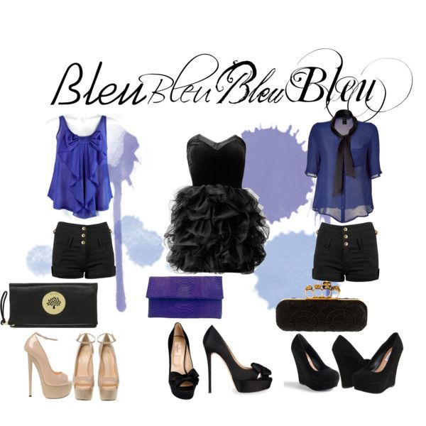 """Bleu"" by tobiashansen on Polyvore"