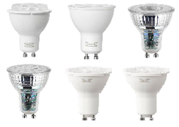 Ikea Ledare Tradfri Ryet Led Gu10 Base Clear Bulb Ebay Bulb Led Led Bulb