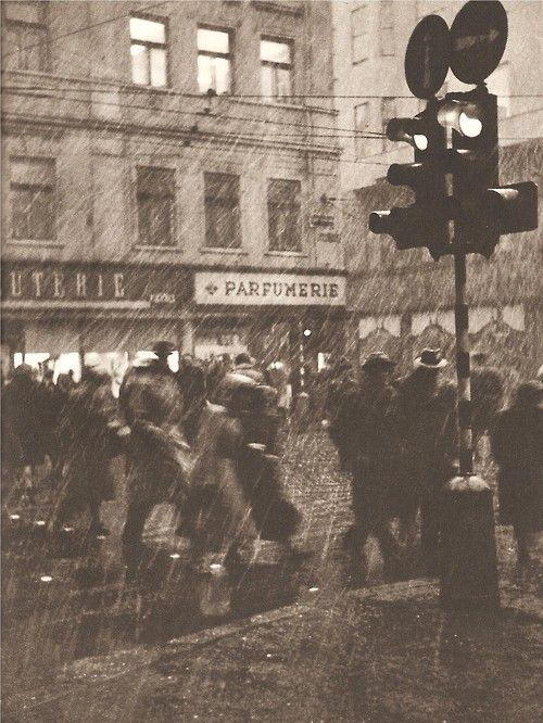 November Prague by E.Einhorn, 50's