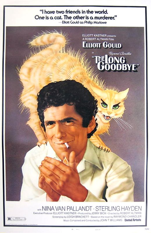 The Long Goodbye (Robert Altman, 1973) Design by Richard Amsel