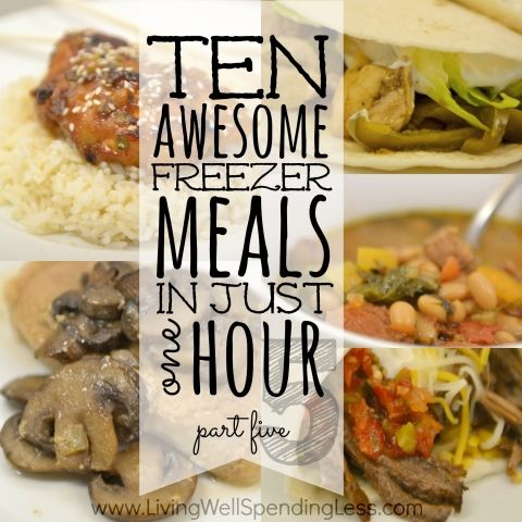 10 Freezer Meals in One Hour: Part 5 | Living Well Spending Less®