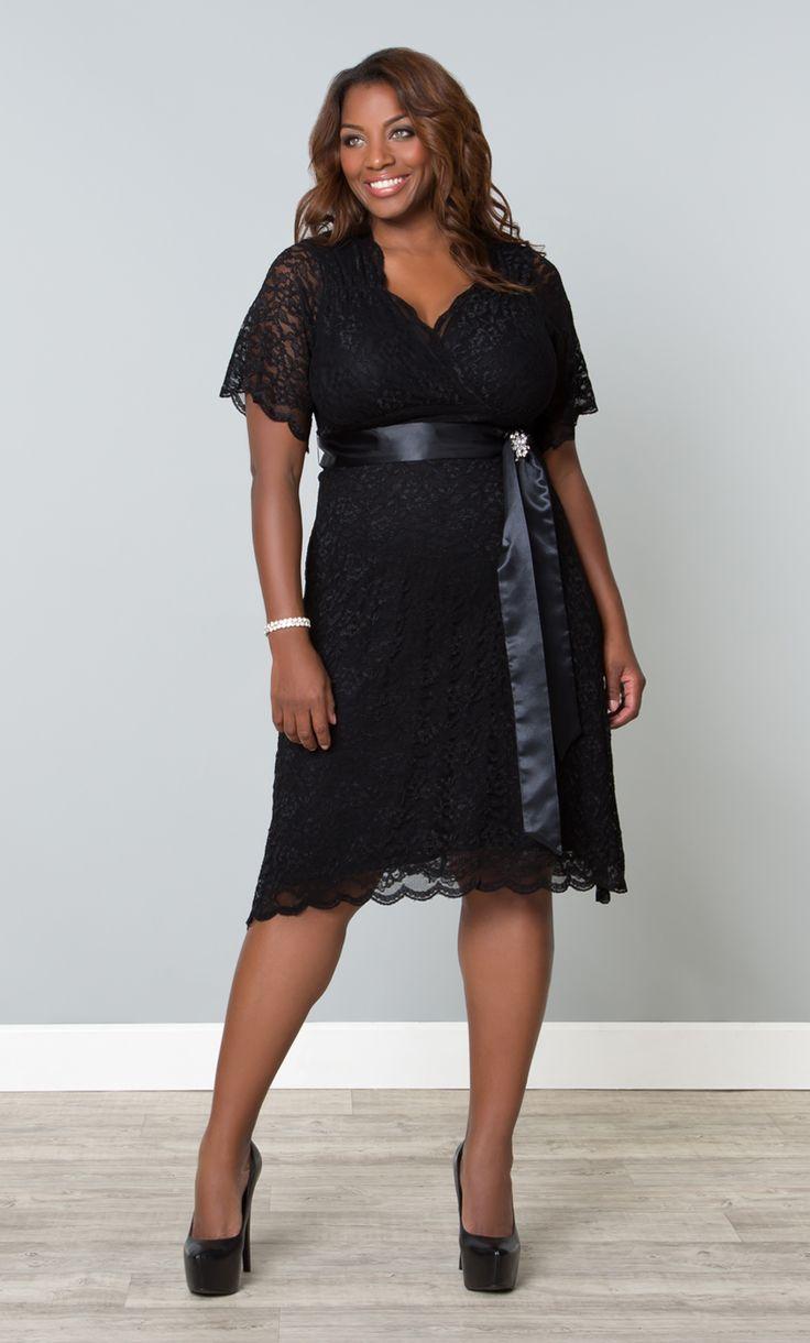 Retro glam lace plus size dresses kiyonna wedding