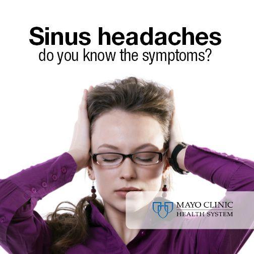Throbbing headache? It could be a sinus headache.
