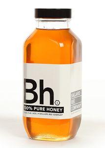 Ballard Bee Company. Love stung. Minimalist Packaging Design.