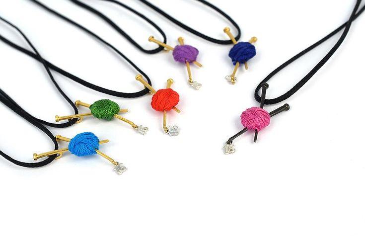 Lucky Yarn Necklace | Charm 2016