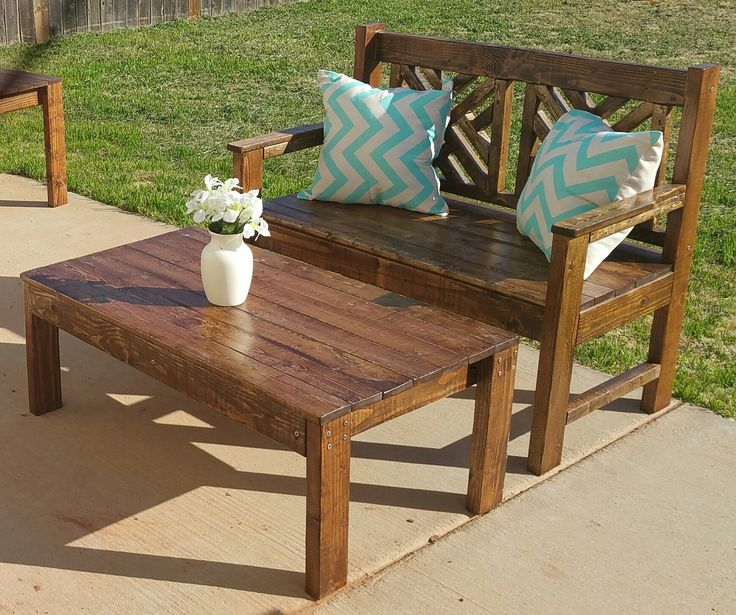 rustic furniture plans. ana white woven bench and table diy projects rustic furniture plans