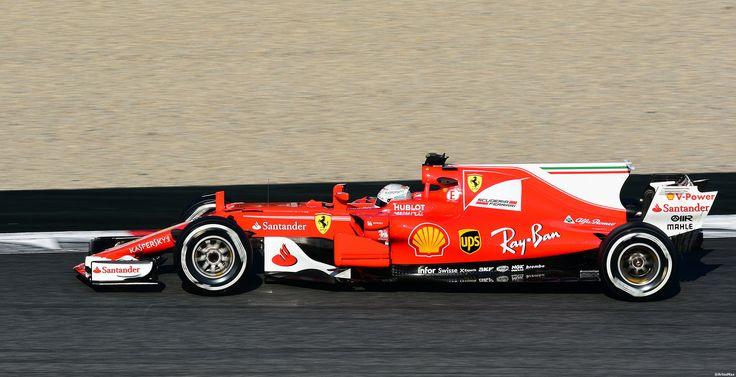 https://flic.kr/p/WAivRZ | Ferrari SF17-JB / Sebastian Vettel / GER / Scuderia  Ferrari