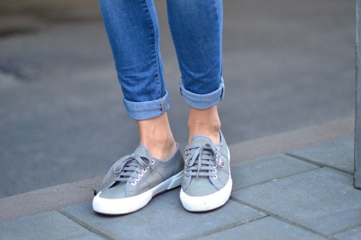 Superga 2750 Cuto Classic Sneaker - can I have these in grey, olive, white and navy plz? Kthxbai.
