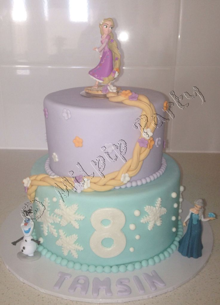 Disney Princess's Rapunzel and Frozen