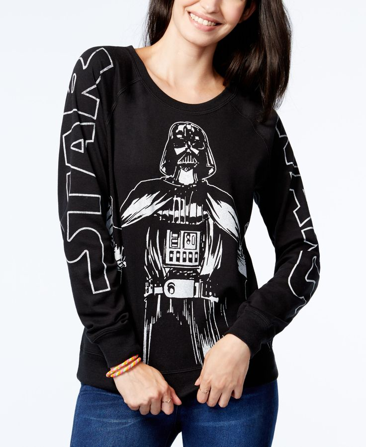 Juniors' Star Wars Darth Vader Graphic Sweatshirt from Freeze 24-7  <------ that is awesome