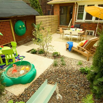 16 ways to get more from your small backyard - Garden Ideas For Toddlers