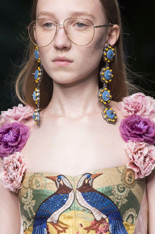 Modna biżuteria [wiosna-lato 2016], Gucci, fot. Imaxtree