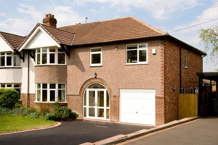 Semi Detached House In Timperley Two Storey Side