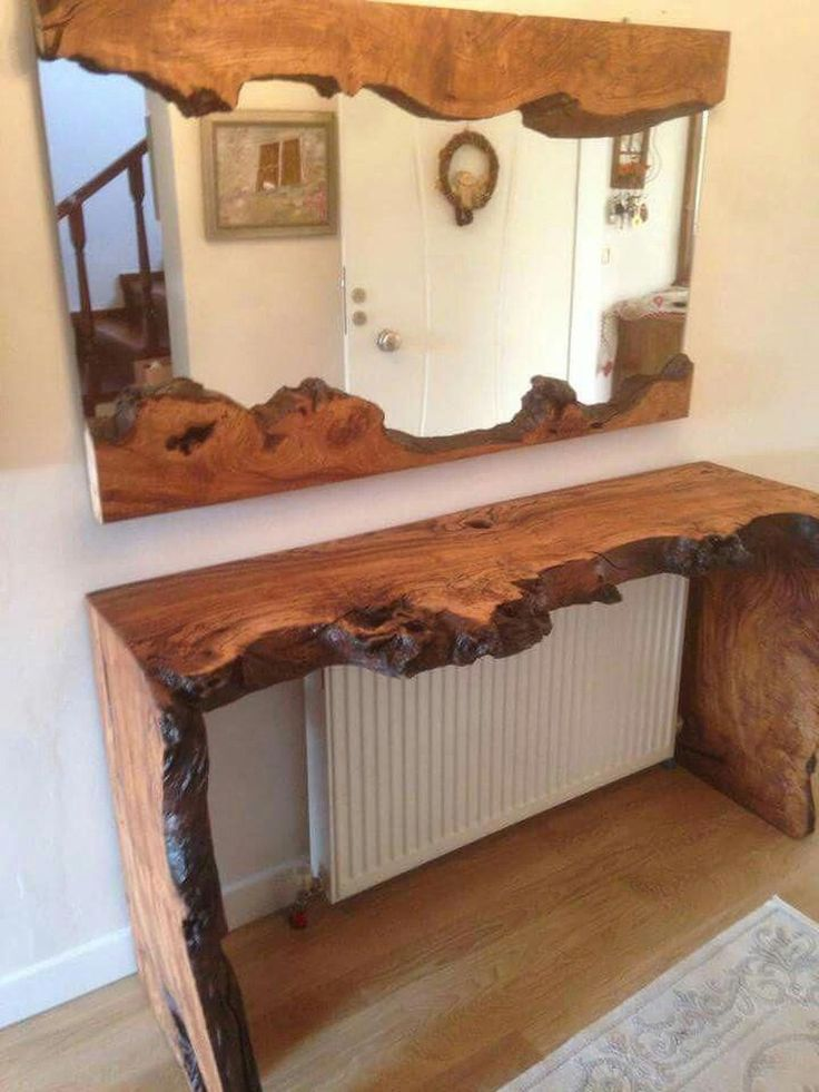 35 Wonderful Live Edge Wood Decorating Ideas