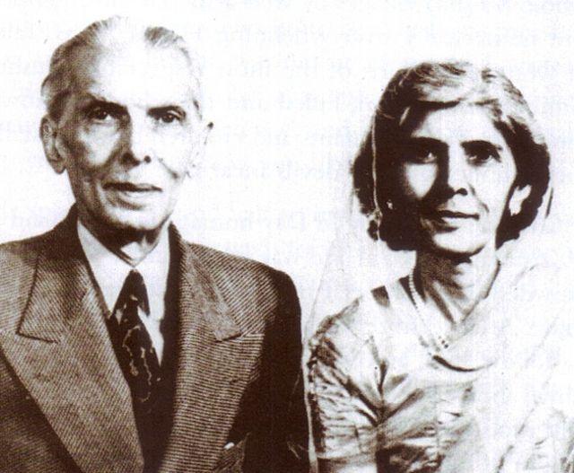 A nice portrait Of Muhammad Ali Jinnah Founder of Pakistan with his sister Fatima Jinnah