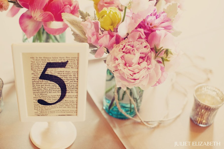 #table number #numero de table