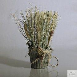 Vaso con decorazione stile marino