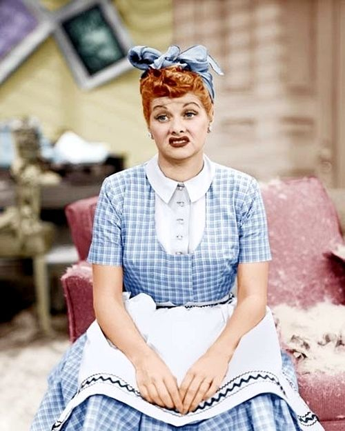 I Love Lucy :-). This is so how I feel sometimes