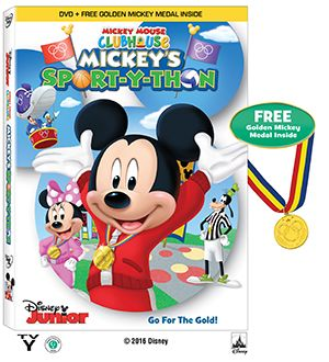 Mickey Mouse Clubhouse: Mickey's Sport-y-thon on DVD May 24th - It's Free At Last