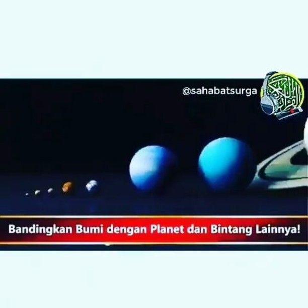 Jika bumi ini bagaikan satu butir pasir di tengah alam semesta yg luas tak terkira lantas bagaimana kita manusia??  Allahu Akbar!!!