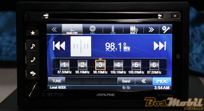Head Unit Alpine IVE-W535EBT