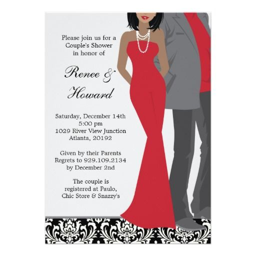 246 best african american wedding invitations images on pinterest,