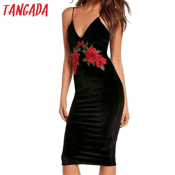 Brand Name: Tangada Gender: Women Dresses Length: Knee-Length Sleeve Style: Spaghetti Strap Model Number: 2016 dress Style: Casual Sleeve Length: Sleeveless Material: Polyester Pattern Type: Solid Dec