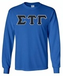 Sigma Tau Gamma Lettered Long sleeve! Our incredible Greek Lettered Long sleeve T-Shirt for only $20