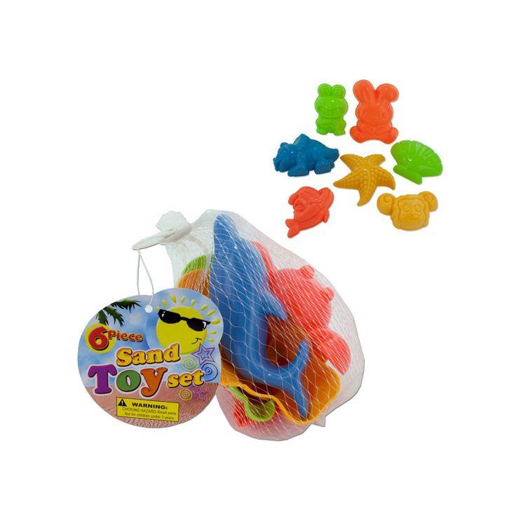 Wholesale Toy Sand Molds Set (Case of 24)