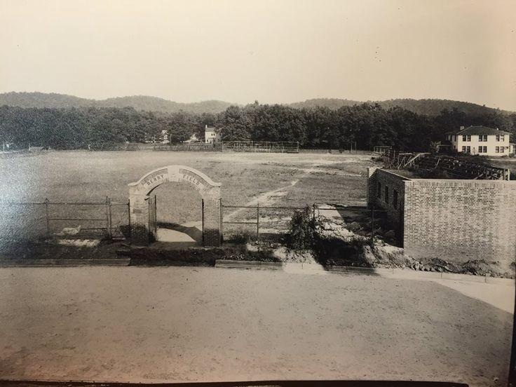 Howard College football field ca 1920.