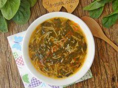 Ispanaklı Şehriye Çorbası Resimli Tarifi - Yemek Tarifleri