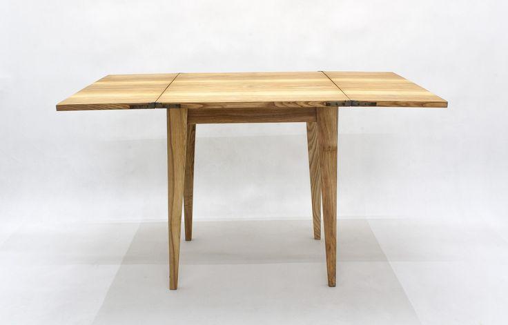 "Stół ""Klapak"" http://polish-design.co.uk/portfolio/stol-klapak/"