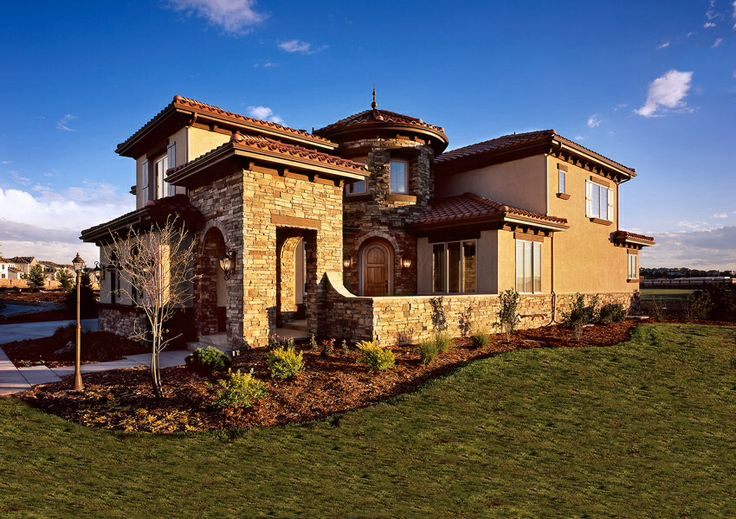 Hacienda style home for Hacienda home builders
