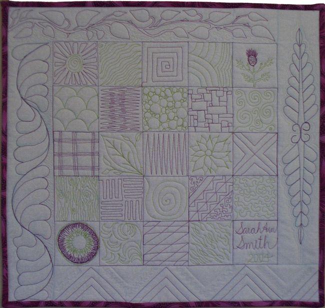 116 best Crafts: Quilting stitch patterns images on Pinterest ... : quilting stitch - Adamdwight.com