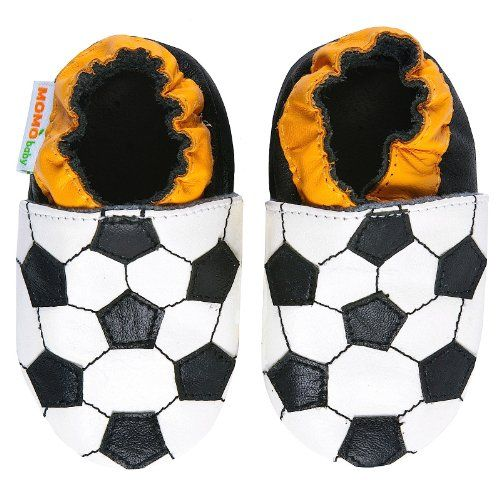 Momo Baby Infant/Toddler Soccer Soft Sole Leather Shoes - http://shoes.goshopinterest.com/boys/crib-shoes-boys/momo-baby-infanttoddler-soccer-soft-sole-leather-shoes/