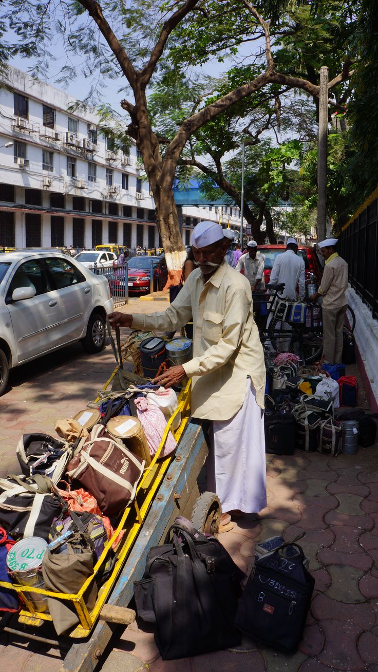 Dabbawalla near Churchgate station