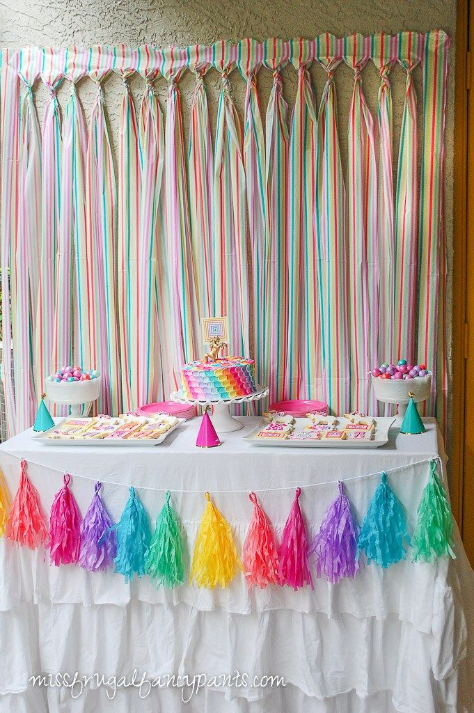 25 best rainbow party decorations ideas on pinterest rainbow birthday decorations rainbow decorations and rainbow birthday