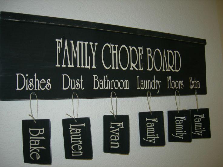 chore board