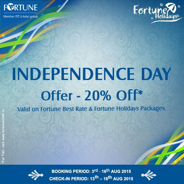 Cherish The Spirit Of Freedom With Us This Independence Day Stay For A Minimum 2