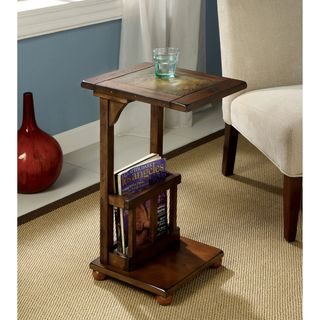 Furniture of America Slimming Sissy Magazine Rack End Table - Overstock™ Shopping - Great Deals on Furniture of America Coffee, Sofa & End Tables