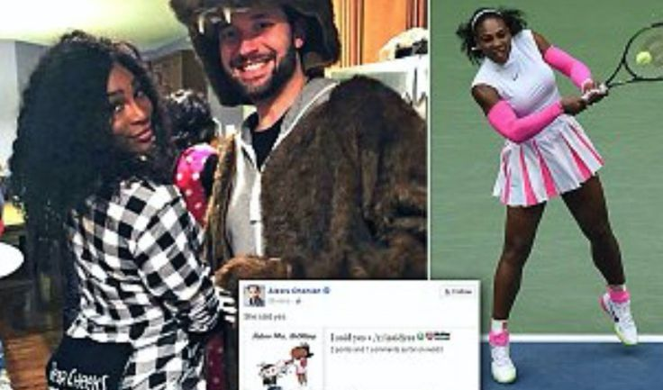 Alexis Ohanian and Serena Williams are engaged to be married!
