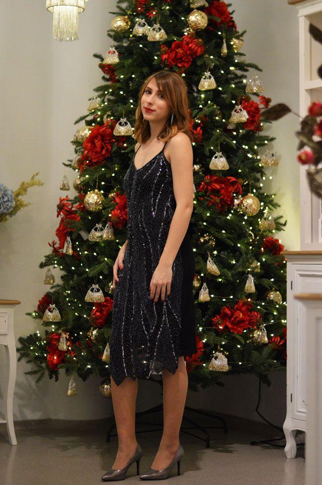 New Year's Eve look! - DJEVOJKA OD MODE #fetishpantyhose #pantyhosefetish #legs #heels #blogger #stiletto #pantyhose #tan
