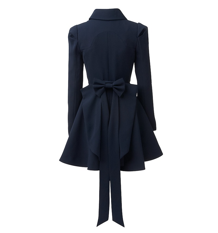 Amber Bow Back Trench Coat - I adore this but what to wear it with??