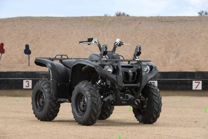 ATV Review: 2014 Yamaha Grizzly 700 in Tactical Black | Field & Stream