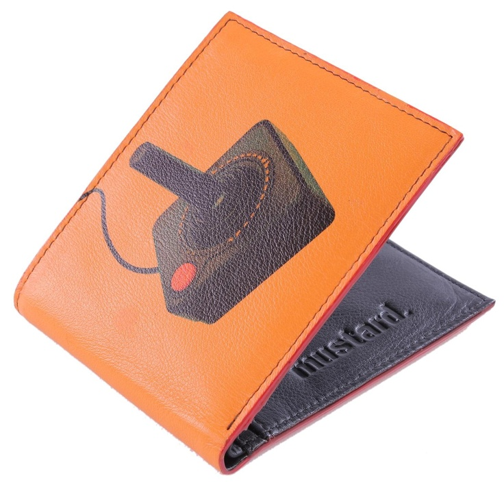 Mustard Wallet - Stick Leather Wallet #Mustard #Mens #Wallet