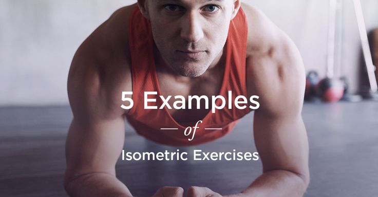 Isometric exercises, like wall sits and planks, are a way to build strength and muscle through a static hold.