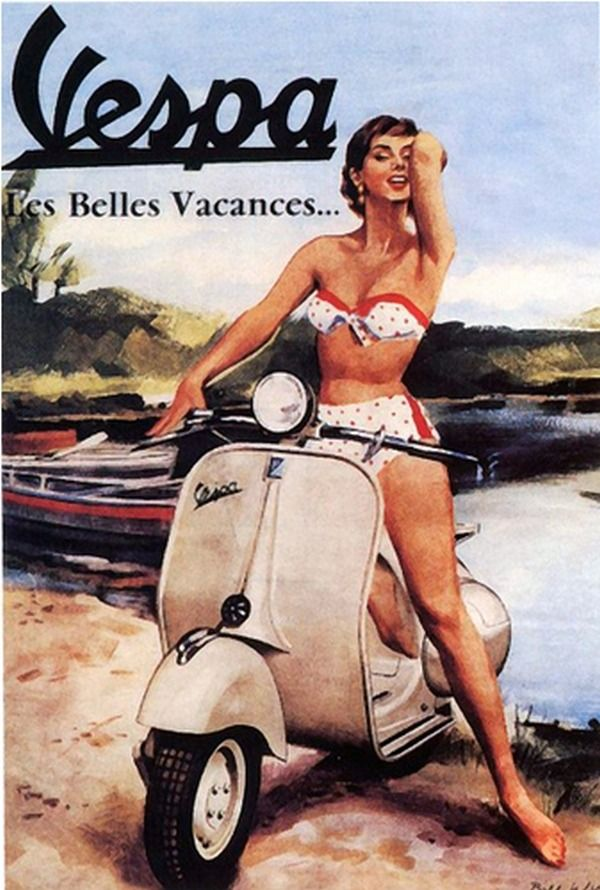 Vespa vacation advertisement (via: gabrielpudiza)